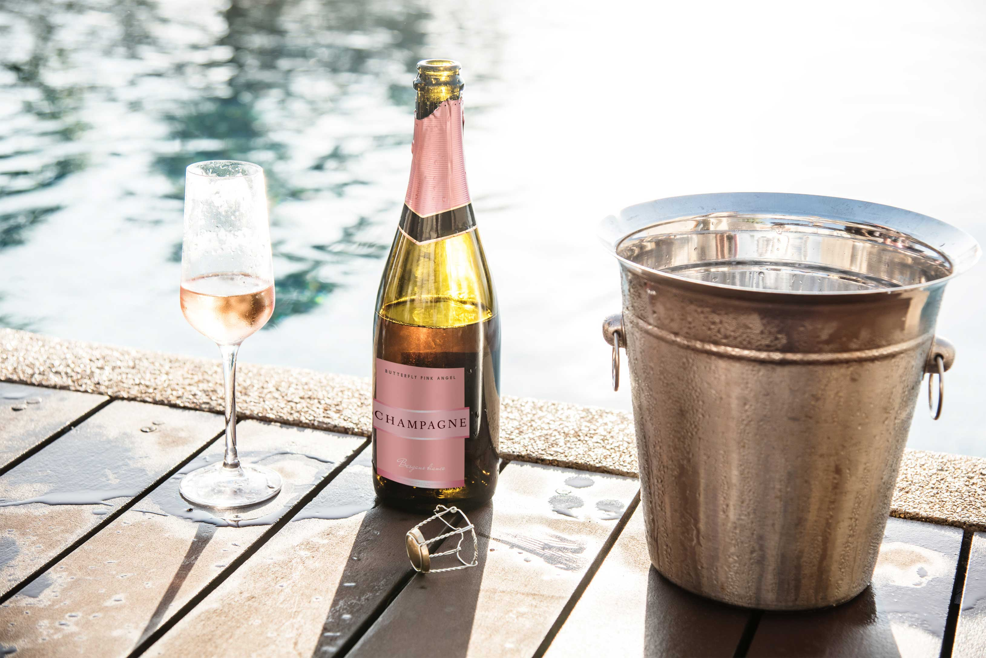Cork & Cart Champagne