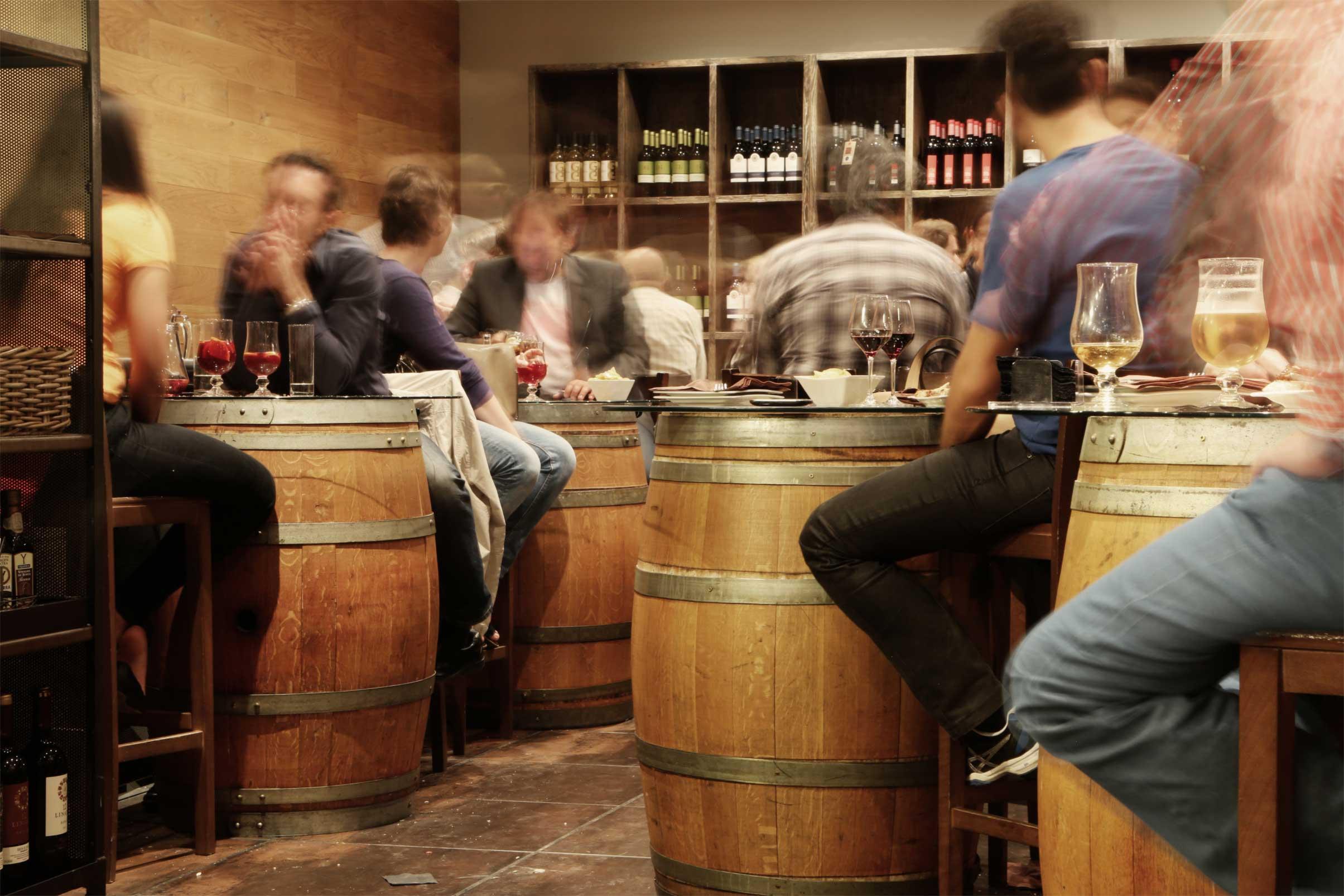 People Drinking Wine | Cork & Cart
