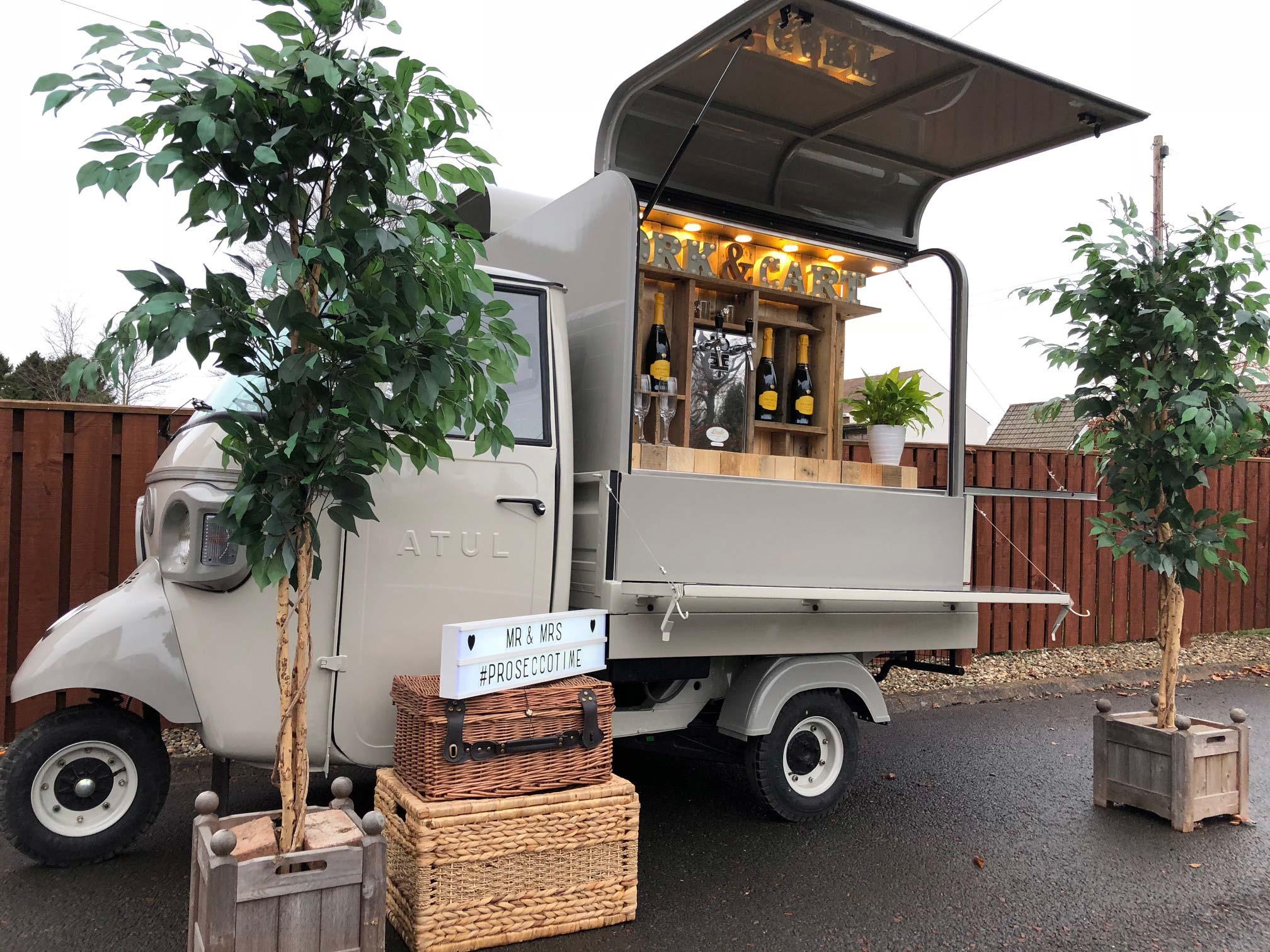 Cork & Cart Mobile Gin Bar