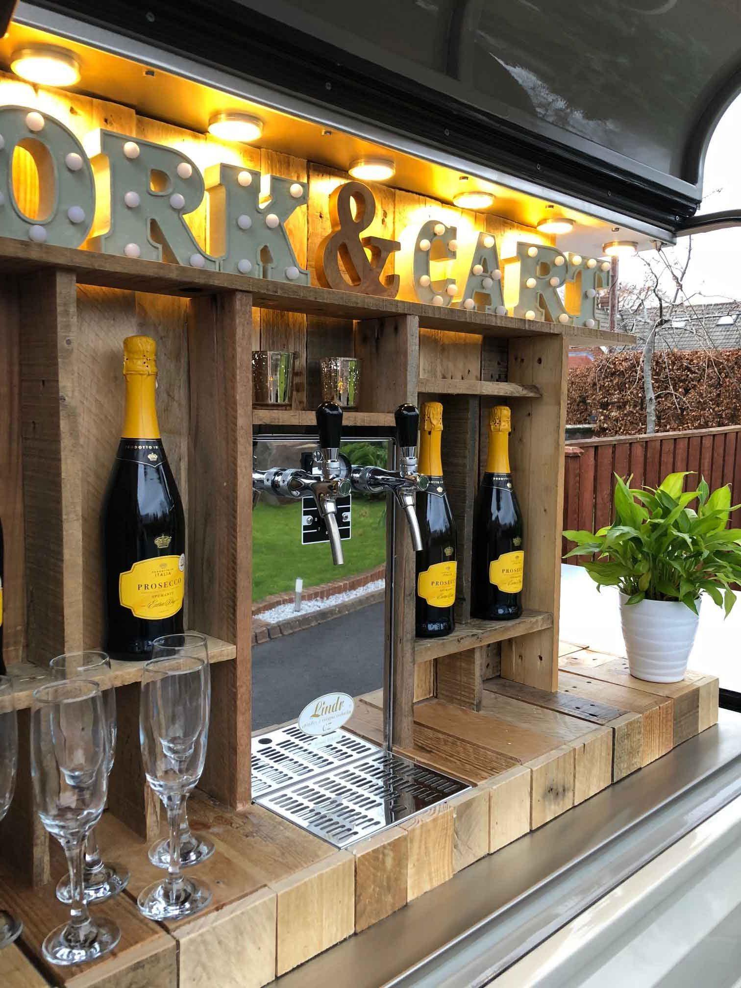 Cork & Cart Mobile Prosecco Bar