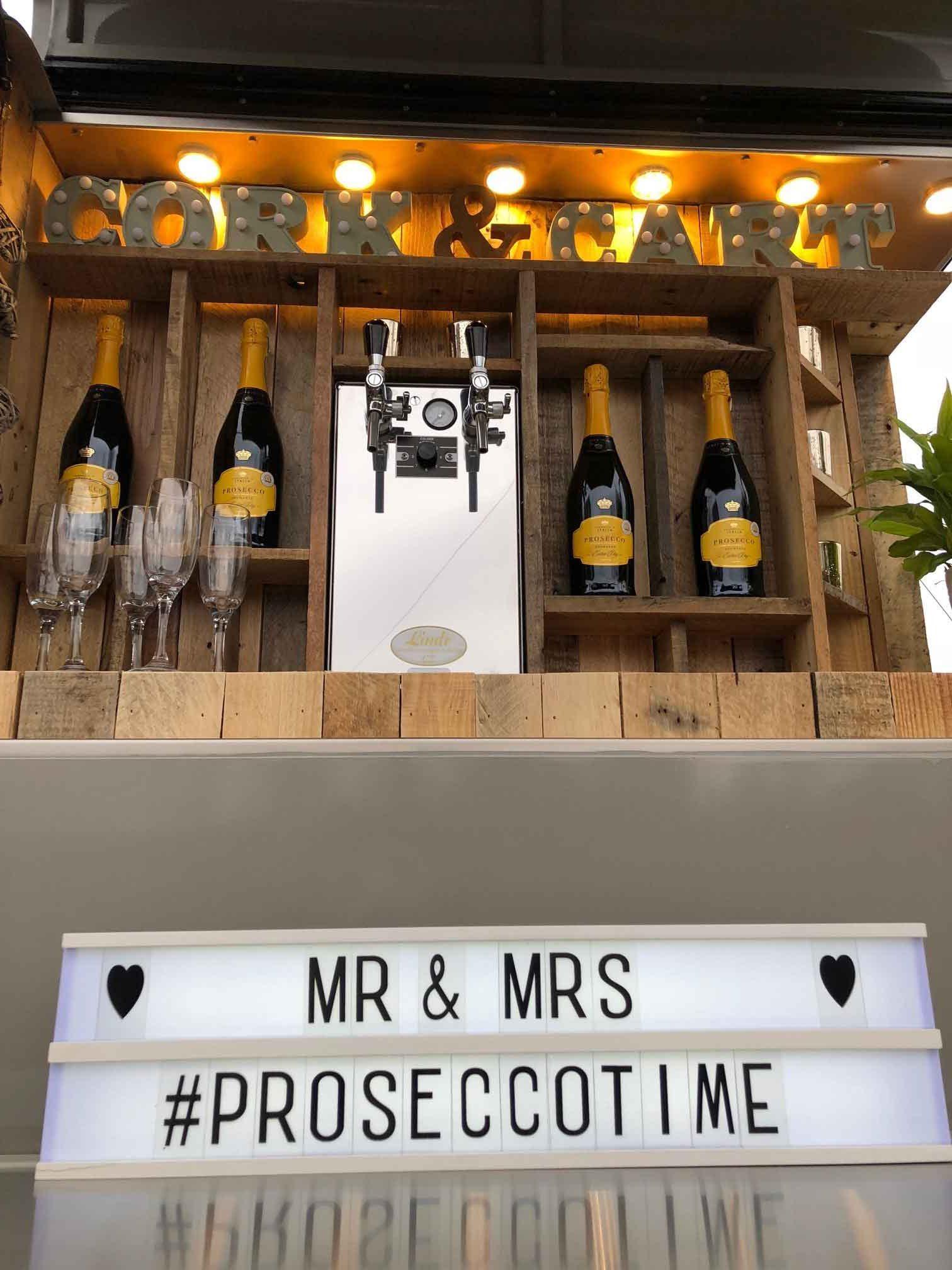 Mr. & Mrs. | Mobile Bar Trailer