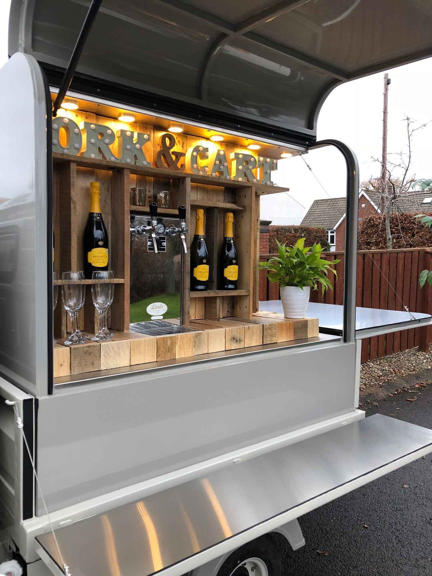 Cork & Cart Mobile Bar Trailer