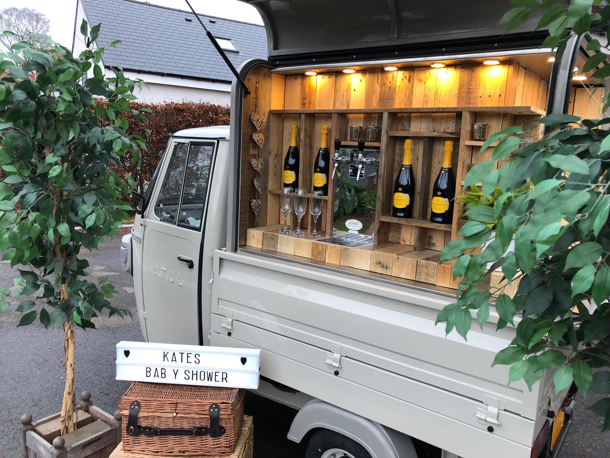 Kates Baby Shower | Mobile Bar UK