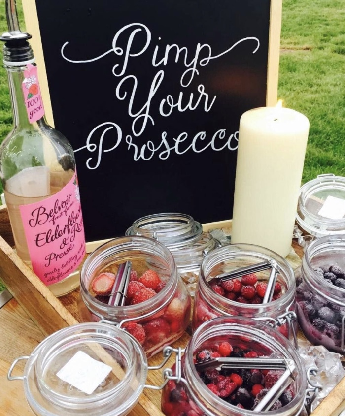 Pimp Your Prosecco | Mobile Gin Bar